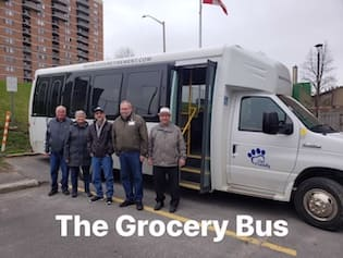 olde forge grocery bus for seniors